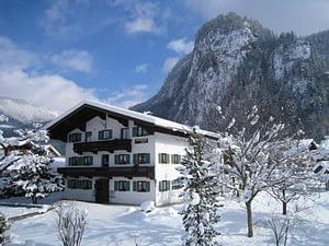 Bablhof, Oberwössen, winter, Ferienwohnungen
