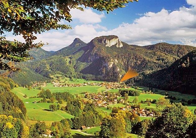 Oberwössen, Achental, Chiemgau